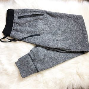 Connection 18 Gray and Black Joggers